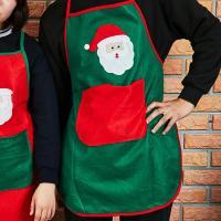 크리스마스 앞치마 (그린)