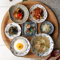 일본식기 미코미 반상세트
