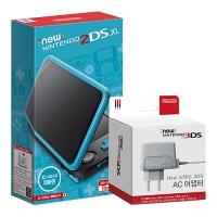 닌텐도 New 2DS XL 본체 + New 3DS 어댑터 정품