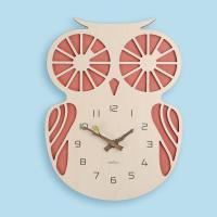 (ktk152)레드부엉이 시계