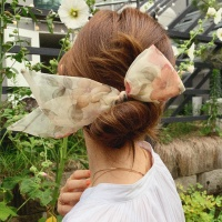 에스더 리본 곱창 머리끈