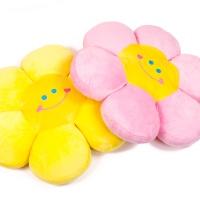 갓샵 스마일꽃 플라워 쇼파 방석 2color 귀여운 쿠션