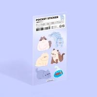 모트모트 포켓 스티커 - 고양이 (no.2)