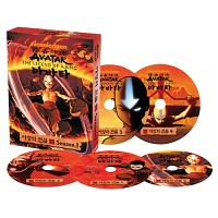 [영어DVD] 아바타 아앙의 전설 3집(DVD5개)