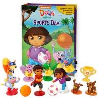 Dora the Explorer Sports Day! My Busy Book  피규어북