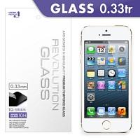 [프로텍트엠/PROTECTM] 아이폰5/5c/5s/iPhone5/5c/5s 레볼루션글라스 0.33TR 강화유리 액정보호방탄유리/방탄필름 (2장)