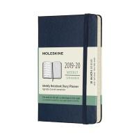 몰스킨 2020위클리(18M)/사파이어블루 하드 P