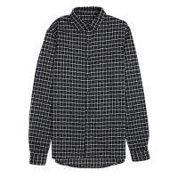 [게타] Getta Check patterned shirt (Grey)