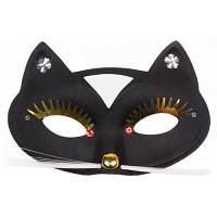 고양이가면 (블랙)