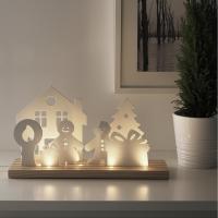 이케아 STRALA LED 테이블장식조명(크리스마스축하)