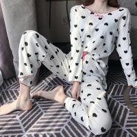 하트프린팅 파자마 여성잠옷 세트 CH1506942
