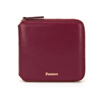 Fennec Zipper Wallet 지퍼 월렛 019 Marsala