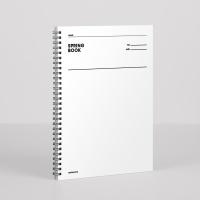 [오리지널] 스프링북 룰드 - 화이트 모트모트