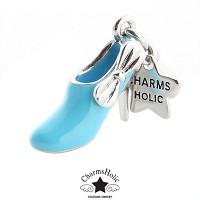 [참스홀릭]Pretty ribbon pump shoes blue cks061