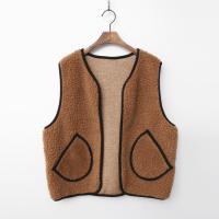 Teddy Bear Pocket Short Vest