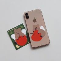 [영이의숲] 사과 요정 꽃카 리무버블 스티커