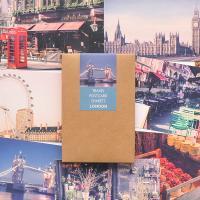 트래블 포스트카드 런던vol.3 엽서세트 12p