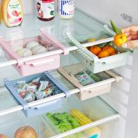 냉장고 서랍형 수납함1개(색상랜덤)