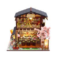 DIY 미니어처 풀하우스 - 초밥집