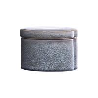 [House Doctor]Jar w lid Croz grey dia 14 cm Ch0580 스토리지
