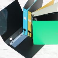 A4-3Cm의 New eco binder-청운그린화일 Color Chip 3공 D링 PP 바인더 HB171