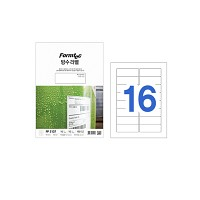 폼텍 레이저용 방수라벨/PP-3107
