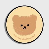 Dot big bear-ivory(스마트톡)