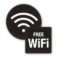 와이파이 표지판 알림판 표찰 - FREE WIFI 아크릴