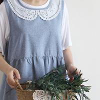 유니 소녀앞치마(2color)
