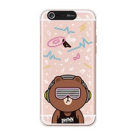iPhone6/iPhone6+ LINE FRIENDS BROWN CLUB Light UP Case
