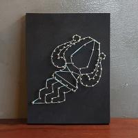 별자리 스트링아트(물병자리)