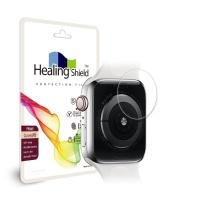 애플워치5 44mm 프라임 보호필름 심박센서2매+외부2매