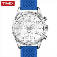 [TIMEX 정품] 타이맥스 크로노그래프 여성용 스포츠시계 T2P064