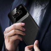 아이폰 11 pro max 슬림핏 가죽 스킨 젤리 강화 유리