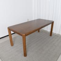 키츠 고무나무 원목 6인 식탁 테이블