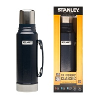 [STANLEY] 스탠리 클래식 보온병 1000미리-헤머톤 네이비