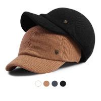 [디꾸보]아이언패치 골지 숏챙 볼캡 모자 HN585