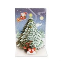 크리스마스카드/성탄절/트리/산타 빅트리(FS205-3)