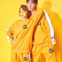 Korea 뉴트로 하프팬츠 Mustard