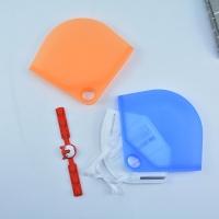 마스크 휴대용 보관 수납 위생 파우치 실리콘 케이스