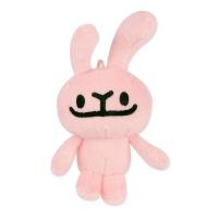 바글바글 하토씨 마스코트인형 13cm_핑크