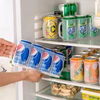 다용도 냉장고 캔 보관함1개