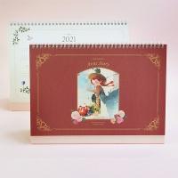 2021 빨간머리앤 탁상용 달력-라지(날짜형+만년형)