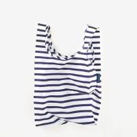 [바쿠백] 소형 베이비 에코백 장바구니 Sailor Stripe