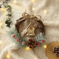 솔방울 작은집 조명리스 선물세트