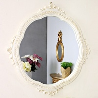 (kkjj427)루시우드 거울 아이보리