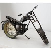 [2HOT] 빈티지 철제 오토바이 시계