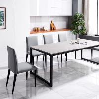 [채우리]슈에트그레이초대형 다용도 테이블 의자 세트