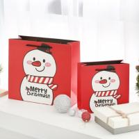 크리스마스 눈사람 쇼핑백 (랜덤발송)