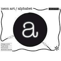 Neon Font Alphabet